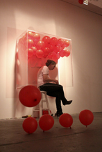 Judith Cottrell installation/performance